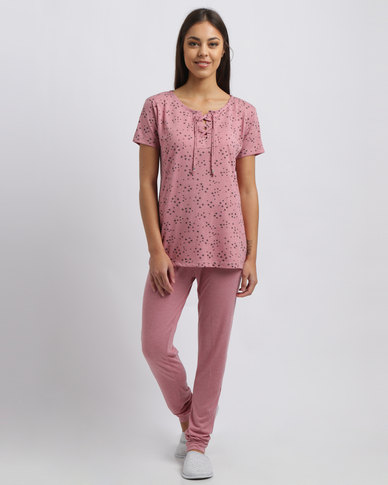Women'secret Feminine Pajamas 2 Pink