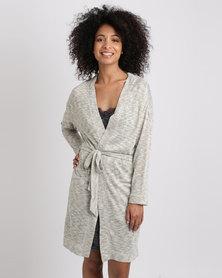Women'secret Night Robe Grey