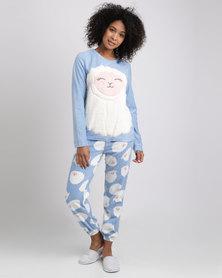 Women'secret Feminine Pyjamas Blue