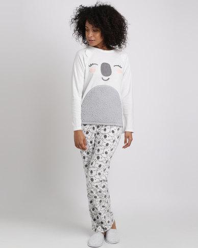 Women'secret Feminine Pyjamas Almond Melange