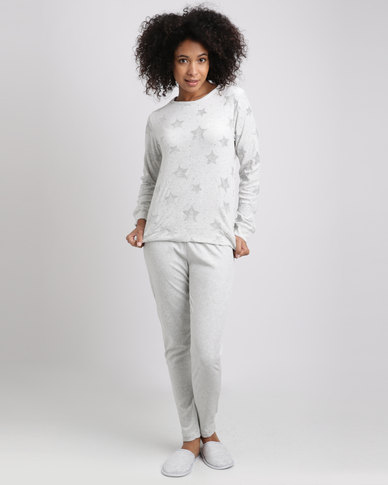 Women'secret Feminine Pyjamas Grey