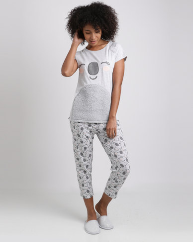 Women'secret Fun Pyjamas Almond Melange