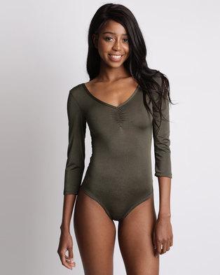 76ccdd3e59 Utopia Ballerina Bodysuit Olive