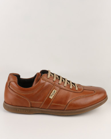 Omega Low Cut Sneakers Brown