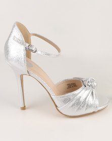 Footwork Guiliana High Heel Sandal Silver
