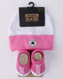 Converse CTP 2 Pack Gift Set White/ Pink