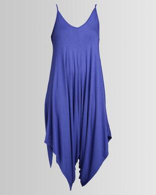 bdf6cfe7a339 Utopia Knit Jumpsuit Cobalt