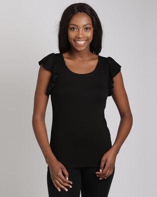 11d3ed9a1319 ... T-shirt Grey. R 599. ×. Utopia Ballet Ruffle Sleeve Tee Black