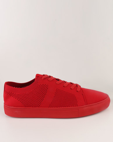 Steve Madden Wexler Sneakers Red