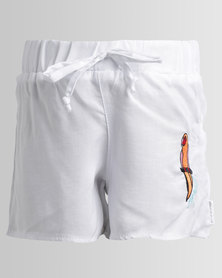 Rip Curl Parrot Palms Shorts White
