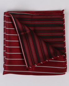 Monatic Silk Hanky Red
