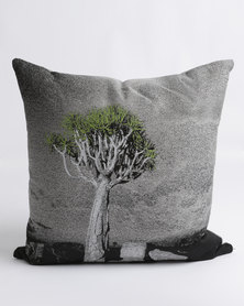 Sheraton Stand Tall Feather Inner Scatter Cushion Green