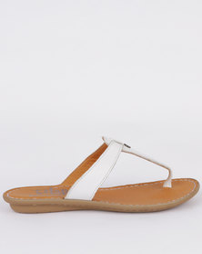 Tslops Tslops Watholia Leather Flat Sandal Var 006 Metal Grain cheap low shipping ldSxC