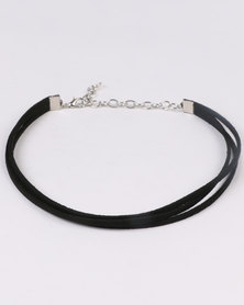 Jewels and Lace Choker Value Pack Black