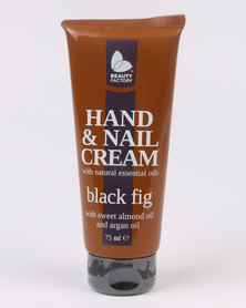 Beauty Factory Essentials Black Fig Hand and Nail Cream 75ml