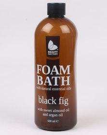 Beauty Factory Essentials Black Fig Foam Bath 500ml