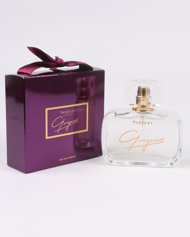 DISC Yardley Gorgeous EDP 50ml SAVE R80