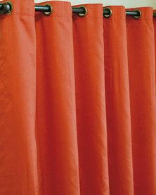 Sheraton Eyelet Curtain Rust