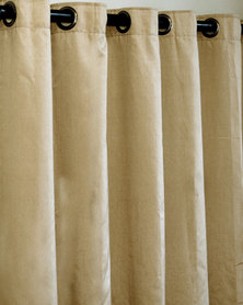 Sheraton Eyelet Curtain Natural