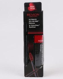 Revlon Ultimate All in One Mascara NWP & ColorStay Eyeliner Blackest Black