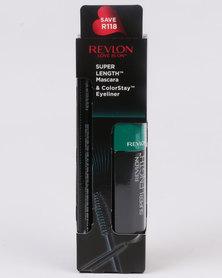 Revlon Super Length Mascara NWP & ColorStay Eyeliner Blackest Black