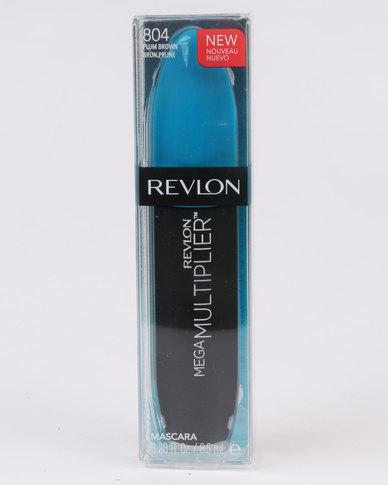 Revlon Mega Multiplier Mascara Plummy Brown