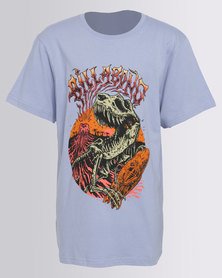 Billabong Boys Dino SS Tee Blue