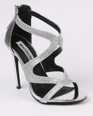 Madison Madison Lola Heels Silver-tone for cheap cheap online sale perfect 9pLRDZl