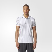 New York Striped Polo Shirt