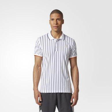 New York Striped Polo Shirt