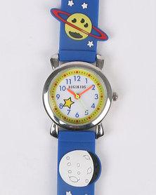 Digitime Space Watch Blue
