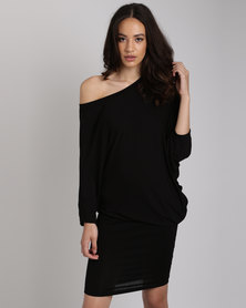 Michelle Ludek Stella Dress Black