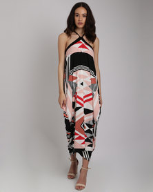 Michelle Ludek Mia Dress Zulu Print Multi