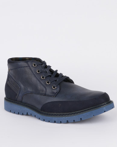 Urbanart Earth 3 Wax Boot Blue