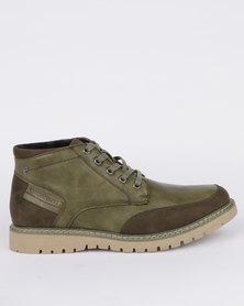 Urbanart Earth 3 Wax Boot Green