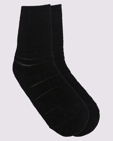 Falke Pollen Anklet Socks Black