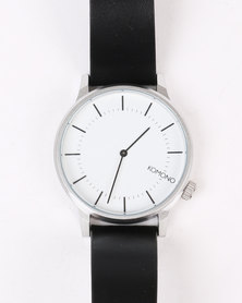 Komono Winston Regal Anthracite Watch Black