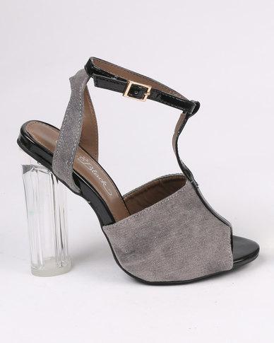 Miss Black Prinia High Heels Black