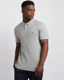 Penguin Winston Polo Grey