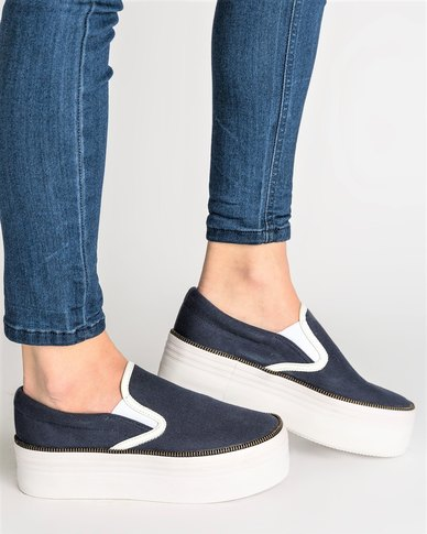 Jeffrey Campbell Jeffrey Campbell WTF Sneakers Navy footlocker cheap sale latest 100% original cheap online free shipping reliable professional sale online tJRrv