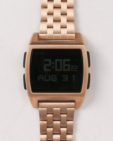 Nixon Base SS All Watch Rose Gold-tone