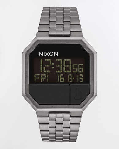Nixon Re-Run Watch All Gunmetal