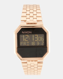 Nixon Re-Run Watch All Rose Gold-tone