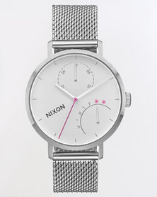 Nixon Clutch Watch All Silver-tone