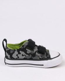 Converse Chuck Taylor 2V Camo OX Sneaker Black