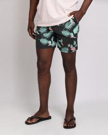St Goliath Lit Pull On Shorts Black
