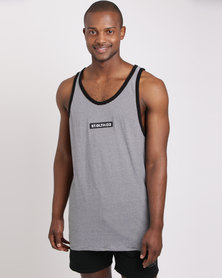 St Goliath Propaganda Tank Top Stripe