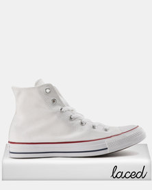 Converse Men's Chuck Taylor All Star Hi Opt White