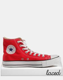 Converse Men's Chuck Taylor All Star Hi Red