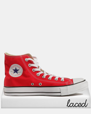 51fd48b8bc95 Converse Men s Chuck Taylor All Star Hi Red